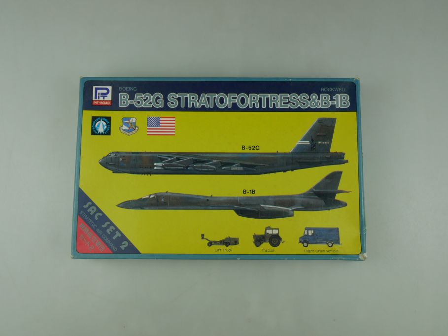 Pit-Road 1/700 Boeing B-52H Stratofortress & Rockwell B-1B S-3 OVP kit 110587