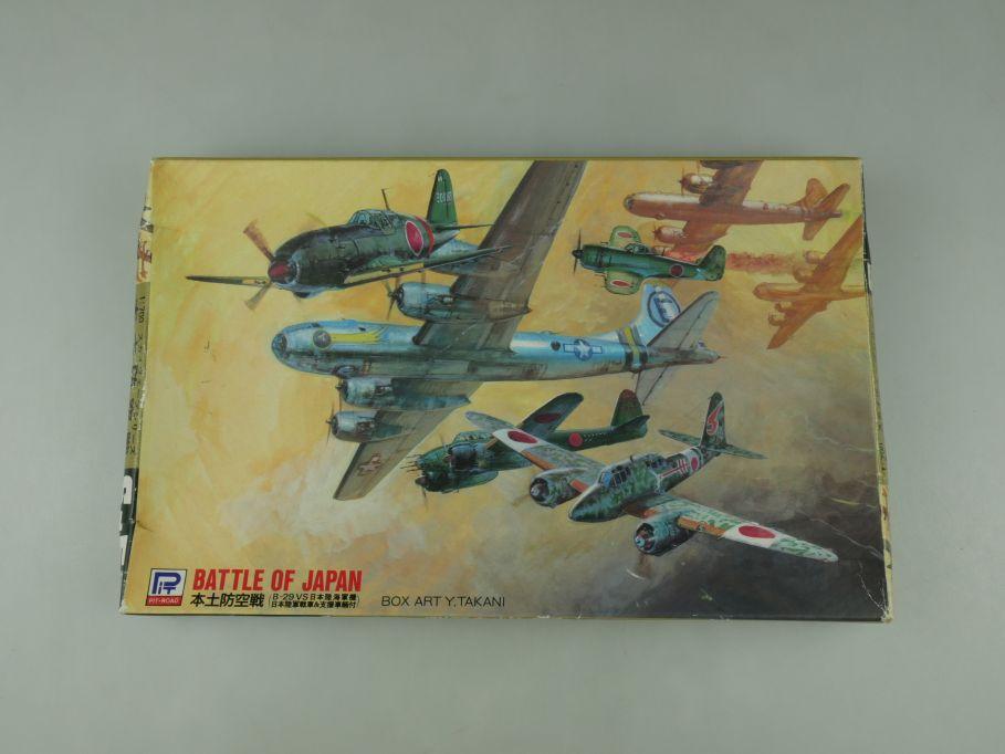 Pit-Road 1/700 Battle of Japan Set S-5 B-29 vs Shiden-Kai Gekko OVP kit 110588