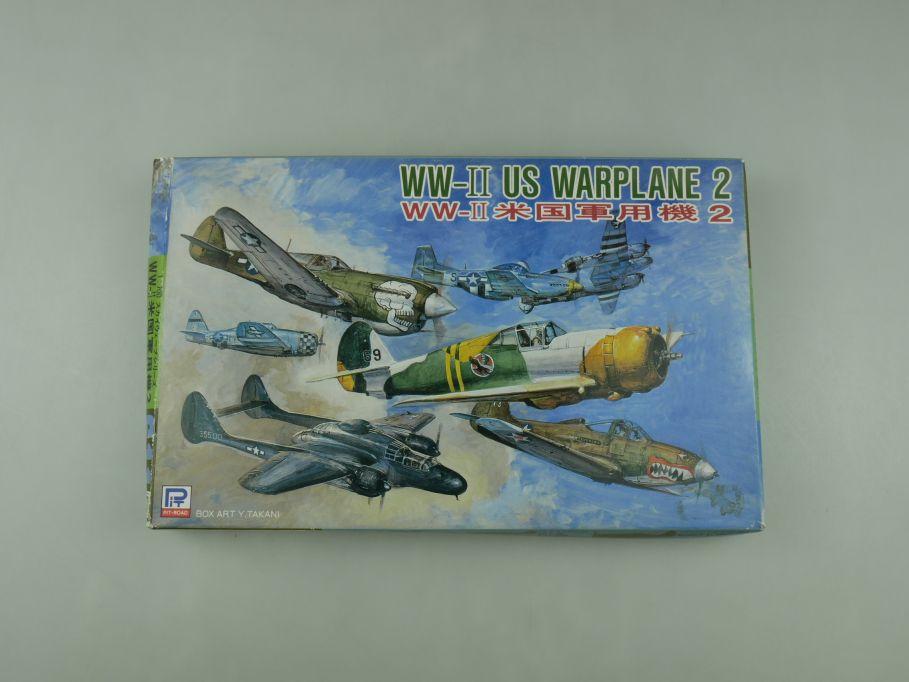 Pit-Road 1/700 WW-II US Warplane 2 S11 OVP plane model kit 110593