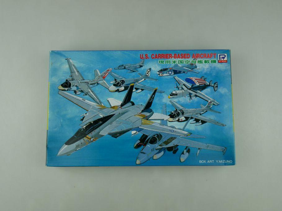 Pit-Road 1/700 U.S. Carrier-Based Aircraft S12 OVP plane model kit 110594