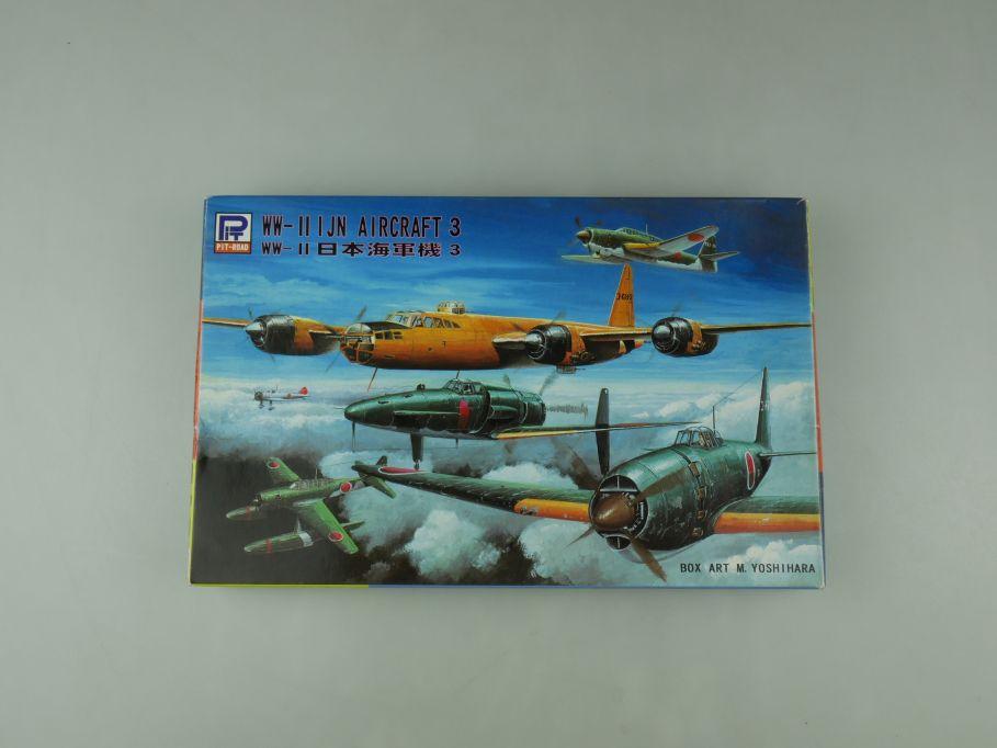 Pit-Road 1/700 WW-II I JN Aircraft 3 S18 OVP plane model kit 110596
