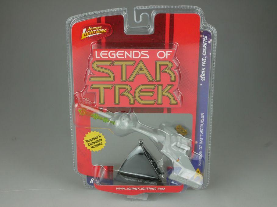 Johnny Lightning Legend of Star Trek Klingon D7 Battlecruiser 53694D 110702