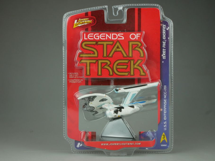Johnny Lightning Legend of Star Trek USS Enterprise NCC-1701 5 Sacrifice 110703