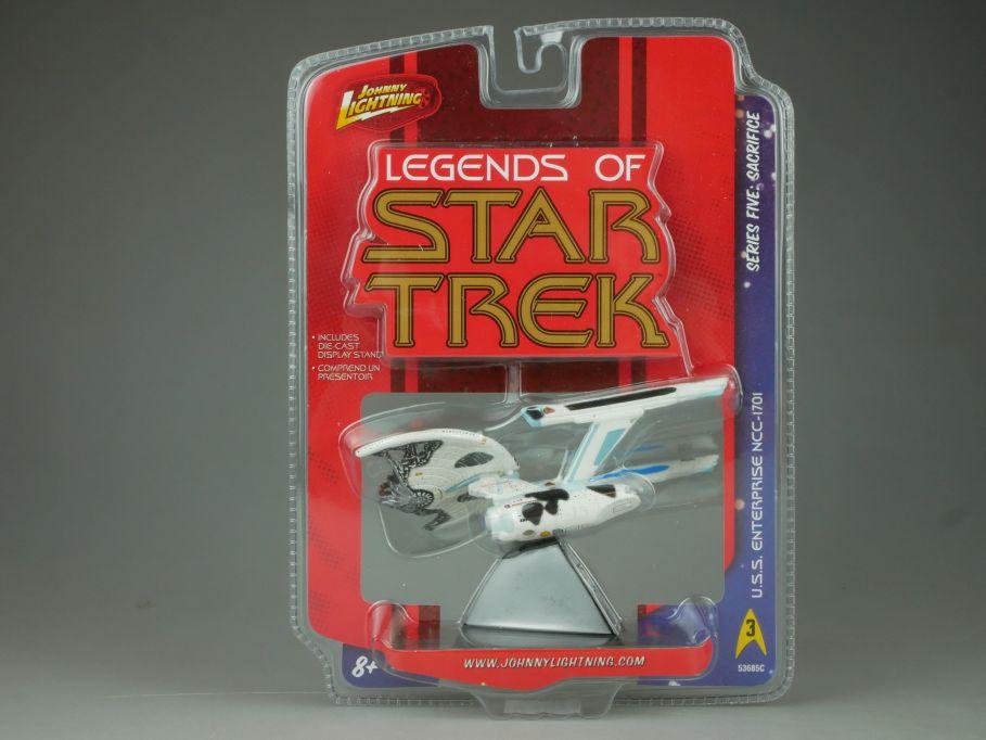 Johnny Lightning Legend of Star Trek USS Enterprise NCC-1701 5 Sacrifice 110703