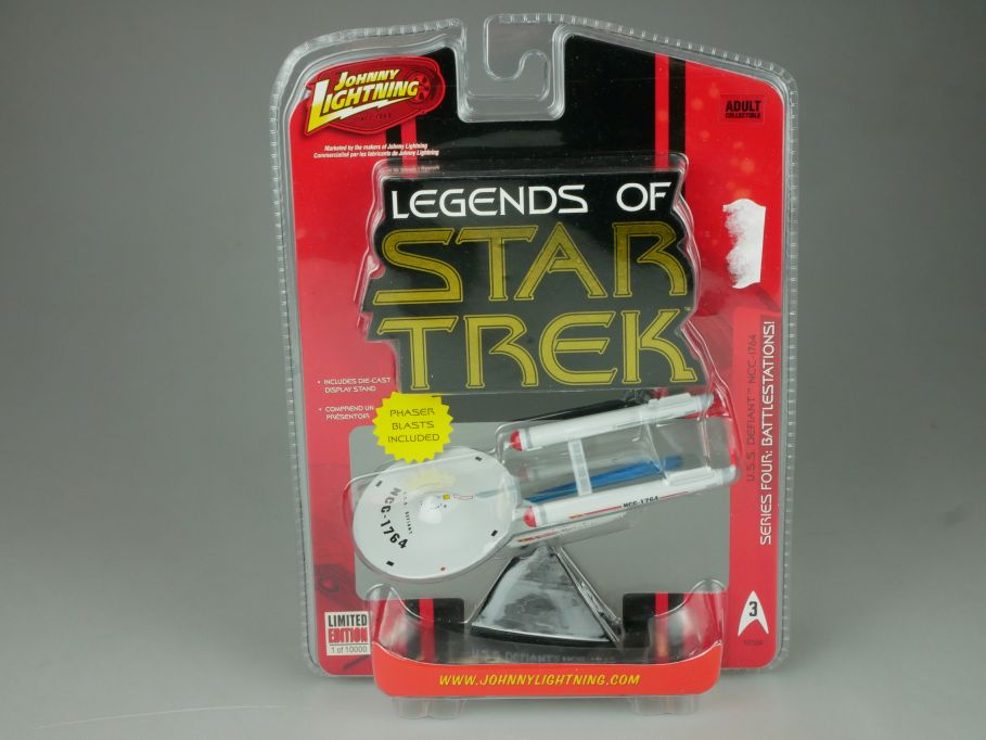Johnny Lightning Legend of Star Trek model USS Defiant NCC-1764 Series 4 110705