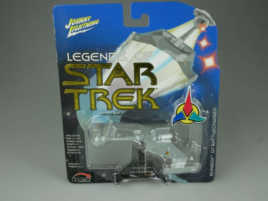 Johnny Lightning Legends of Star Trek Klingon D7 Battlecruiser Series 1 110707