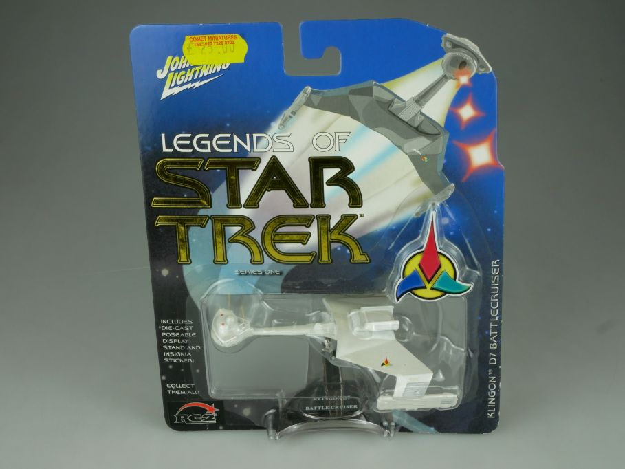 Johnny Lightning Legends of Star Trek Klingon D7 Battlecruiser Series 1 110708