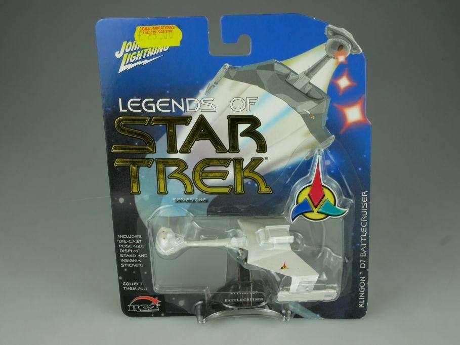 Johnny Lightning Legends of Star Trek Klingon D7 Battlecruiser Series 1 110708