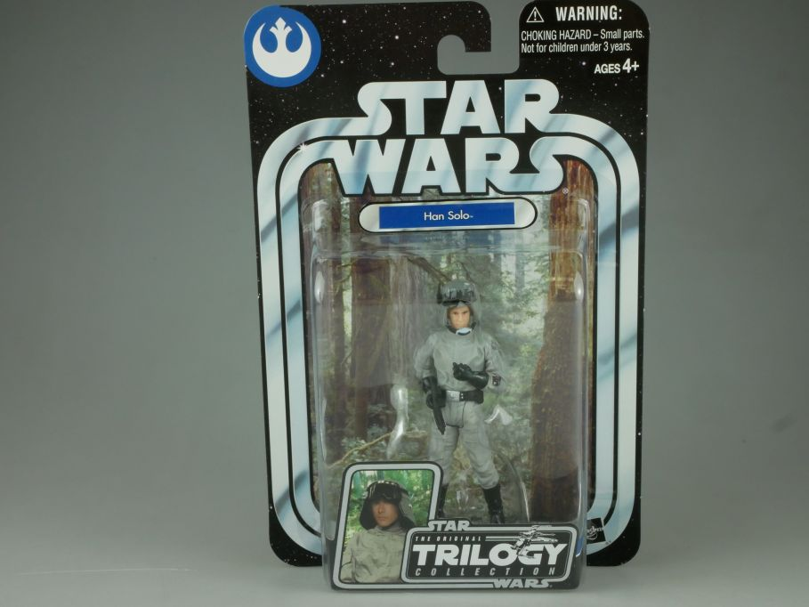 Star Wars trilogy return of the jedi Han Solo OTC 35 Hasbro blister 110738