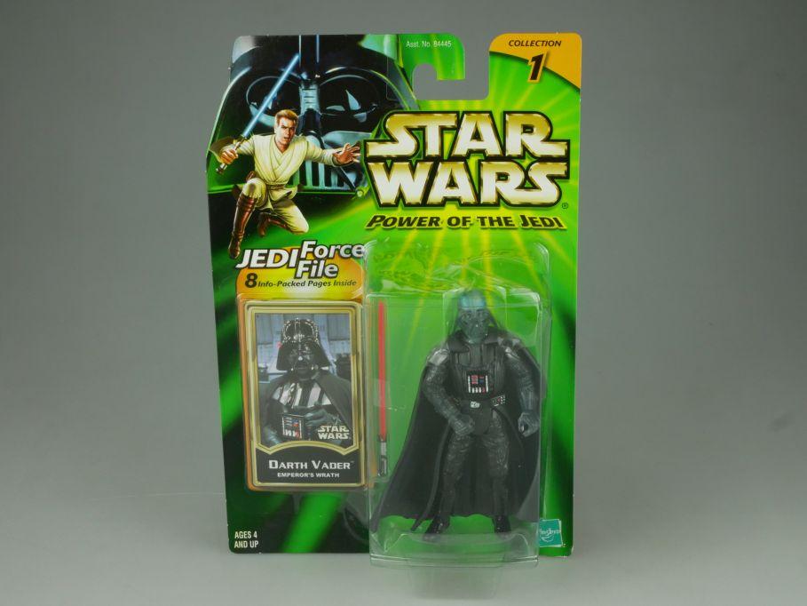 Star Wars Power of the Jedi Darth Vader Figur 84445 2000 Hasbro 110743