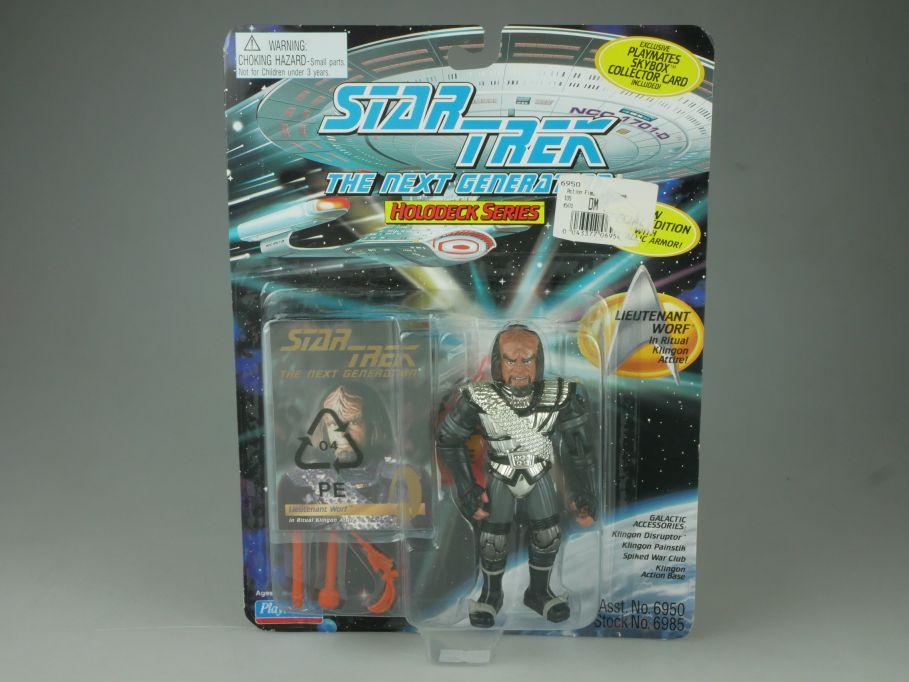 Star Trek The Next Generation Lieutenant Worf Playmates 6950 1995 Blister 110751