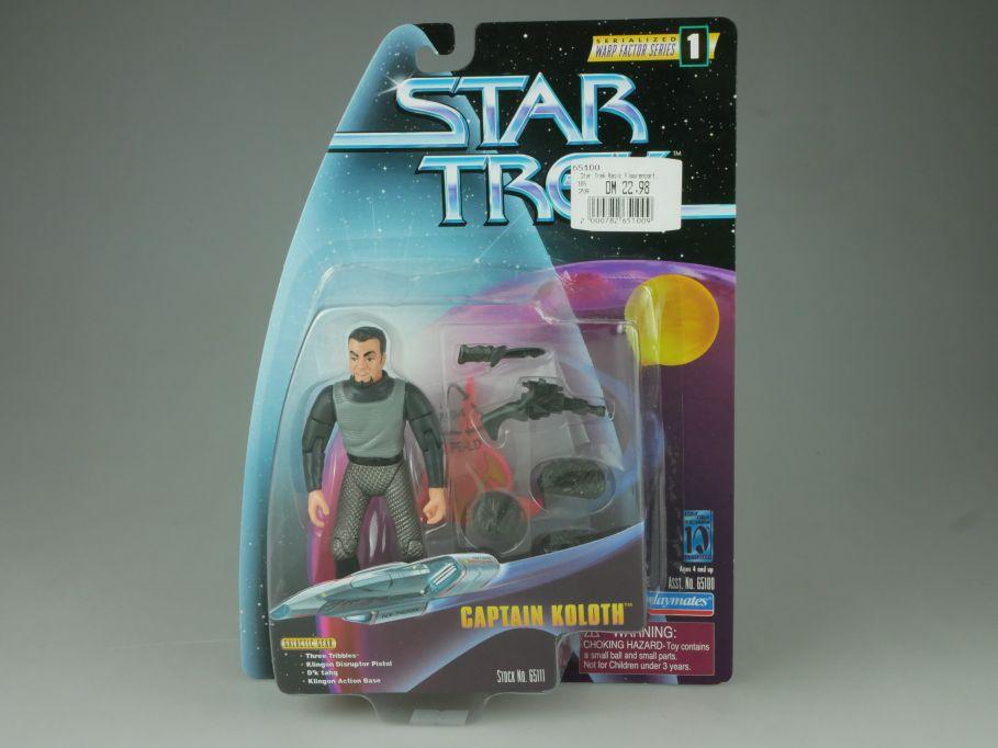 Star Trek Captain Koloth Action Figur Playmates 65100 65111 Blister 110752