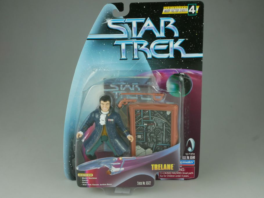 Star Trek Trelane Mirror Machine Action Figur Playmates 65122 Blister 110754