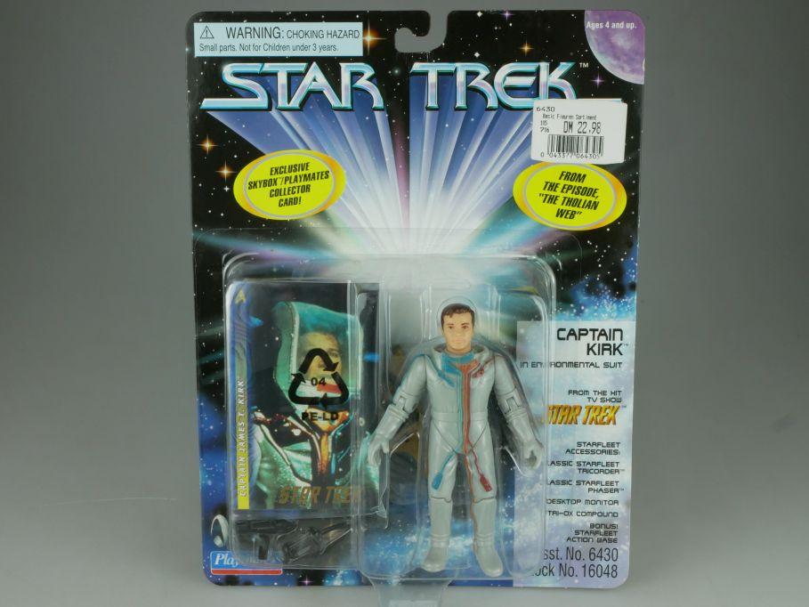 Star Trek Captain Kirk environmental suit Figur Playmates 16048 Blister 110757