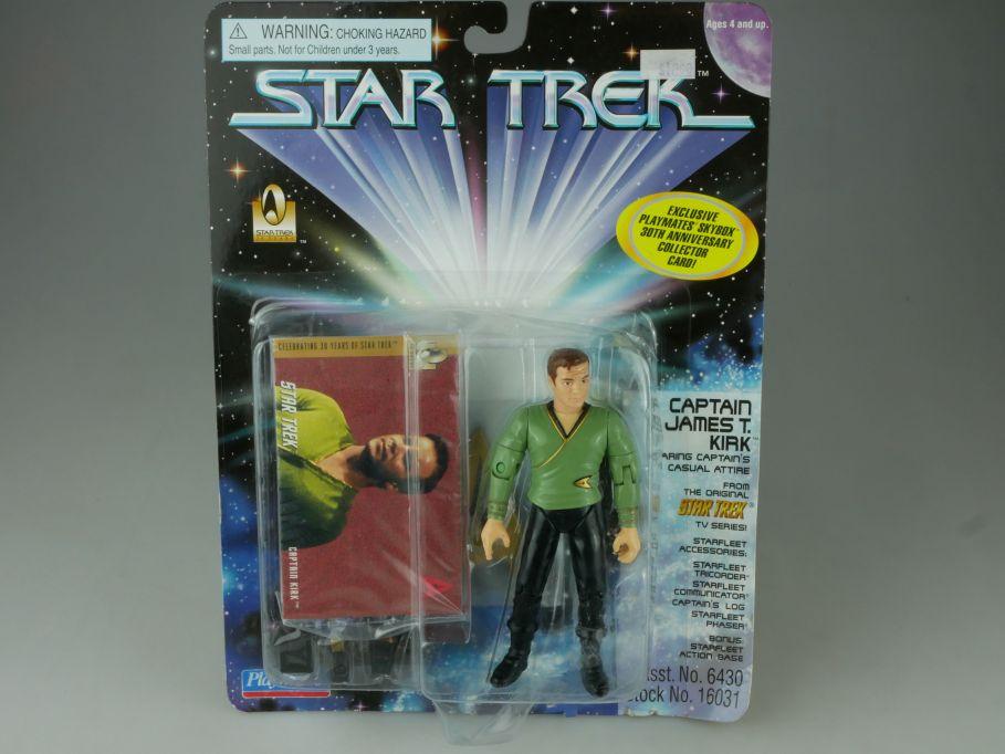 Star Trek Captain James T. Kirk Playmates Action Figur 16031 Blister 110758