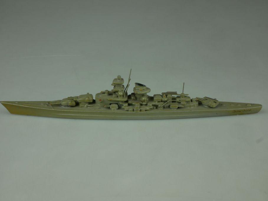 Wiking Schlachtschiff Scharnhorst Deutschland Metall Schiff ship 1:1250 110697