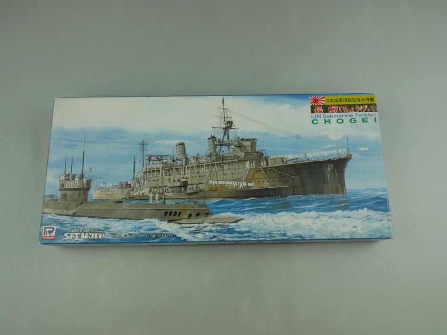 Skywave 1/700 IJN Submarine Tender Chogei W35 SW-2800 OVP kit 110773
