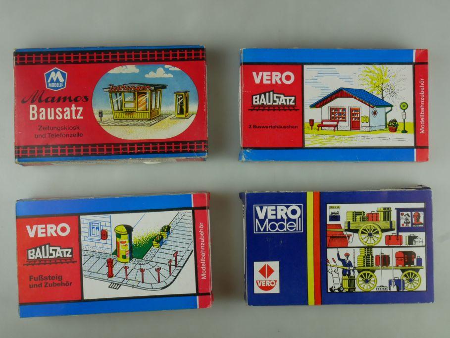 Vero / Mamos Konvolut Zubehör 2/54 2/62 3/40 Bahnhof OVP kit 110995