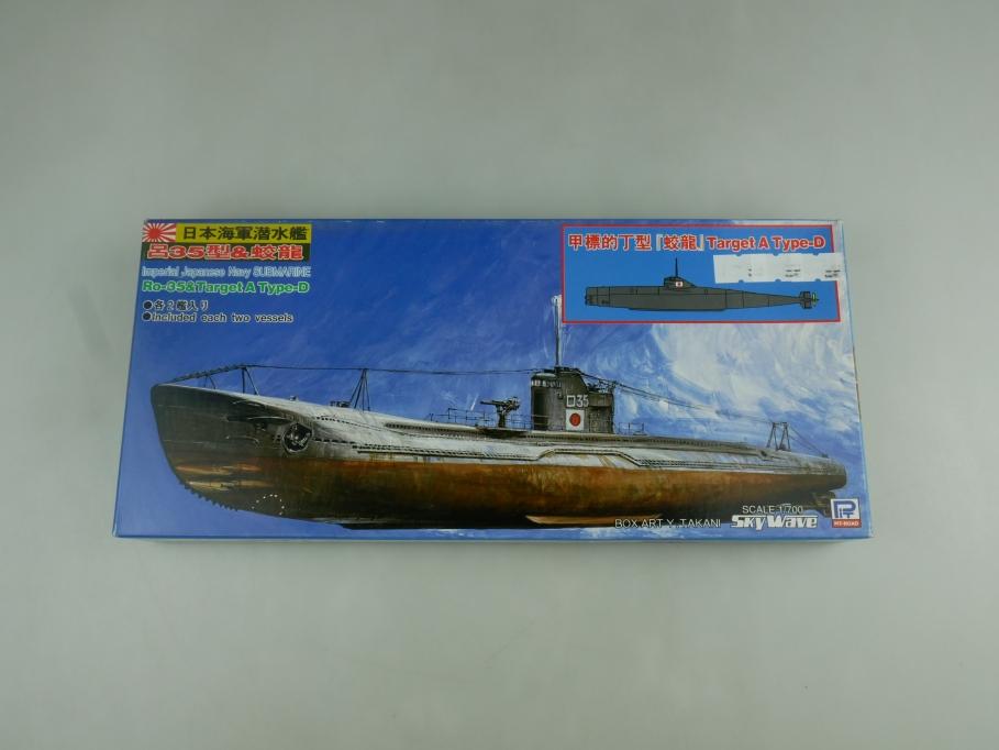 Sky Wave 1/700 IJN Submarine Ro-35 & Target A Type-D W45 w/ Box kit 110784