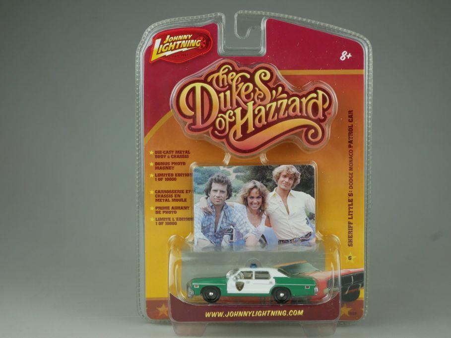 Johnny Lightning the Dukes of Hazzard Dodge Monaco Sheriff Littles Police 110760