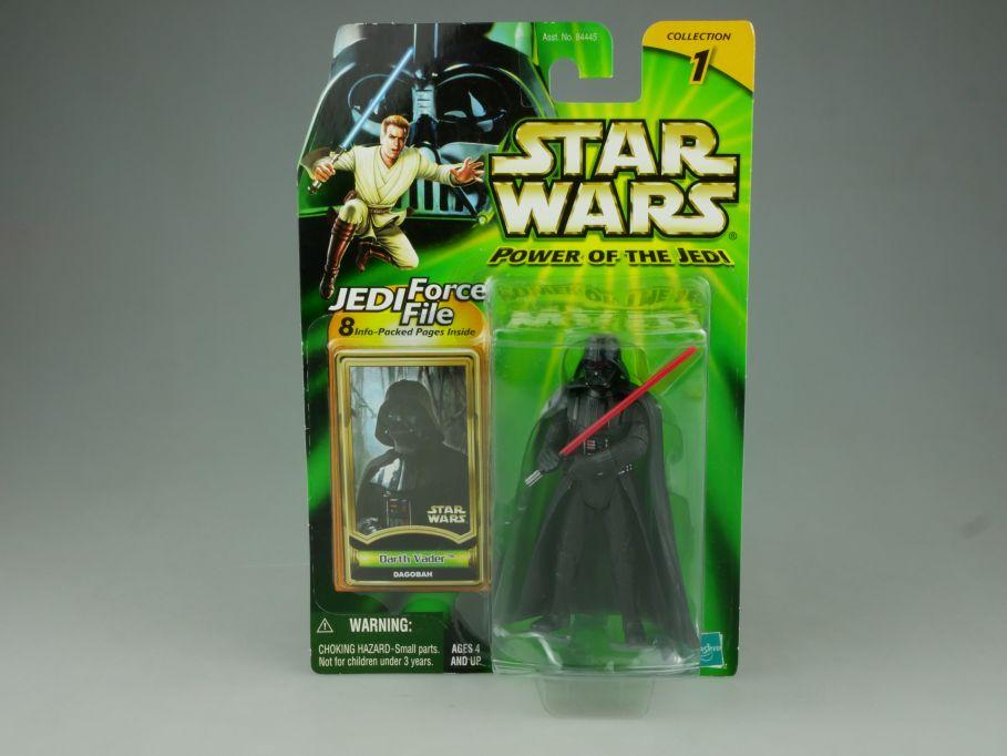 Star Wars Power of the Jedi Darth Vader Dagobah Figur 2000 Hasbro Blister 110763