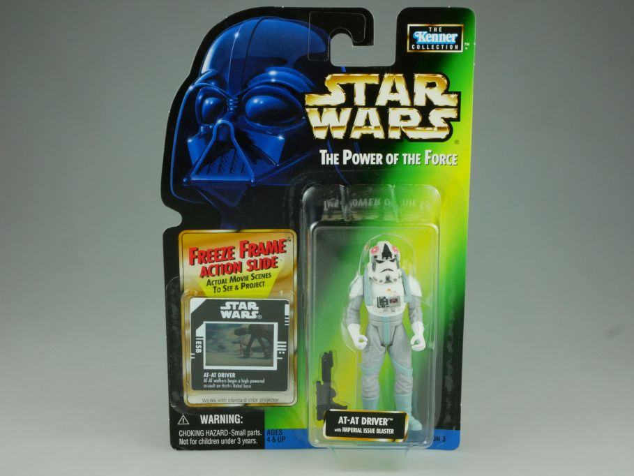 Star Wars the Power of the Force AT-AT Driver 2001 Kenner Hasbro Blister 110814