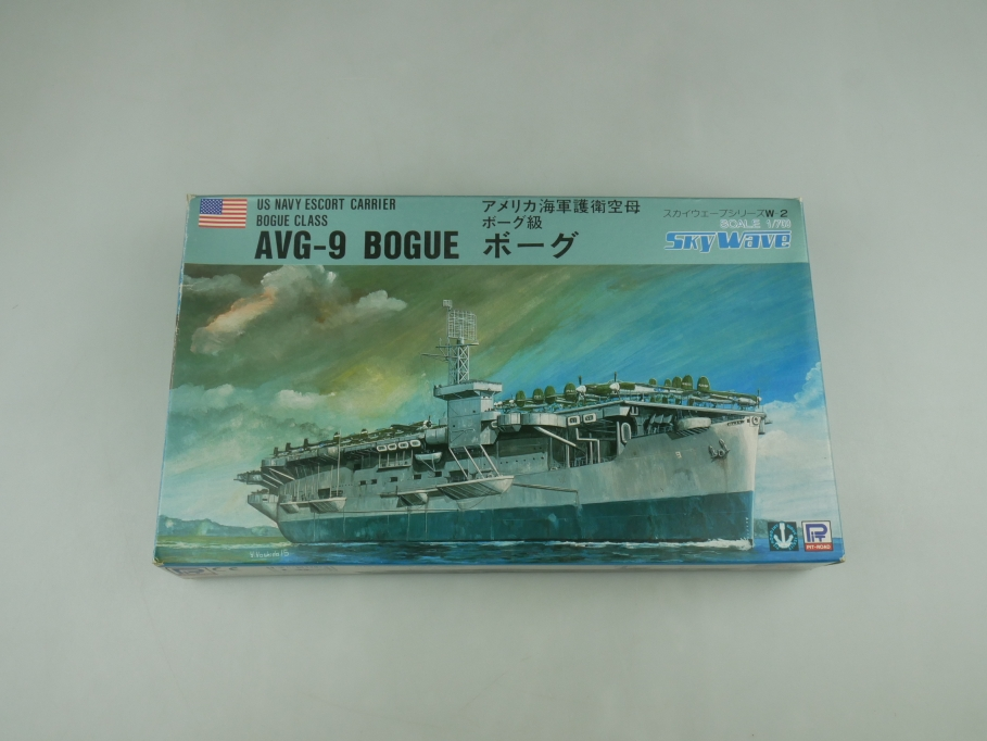 Sky Wave 1/700 US Navy Escort Carrier Class AVG-9 Bogue W2 w/ Box kit 110804