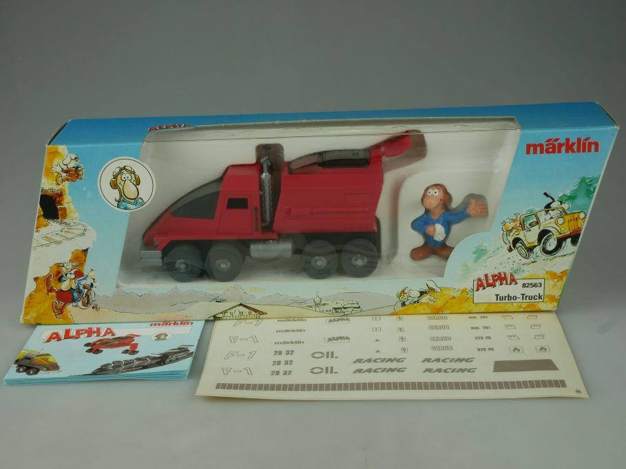 Märklin ALPHA Turbo Racing Truck 82563 Truck + Box 110863