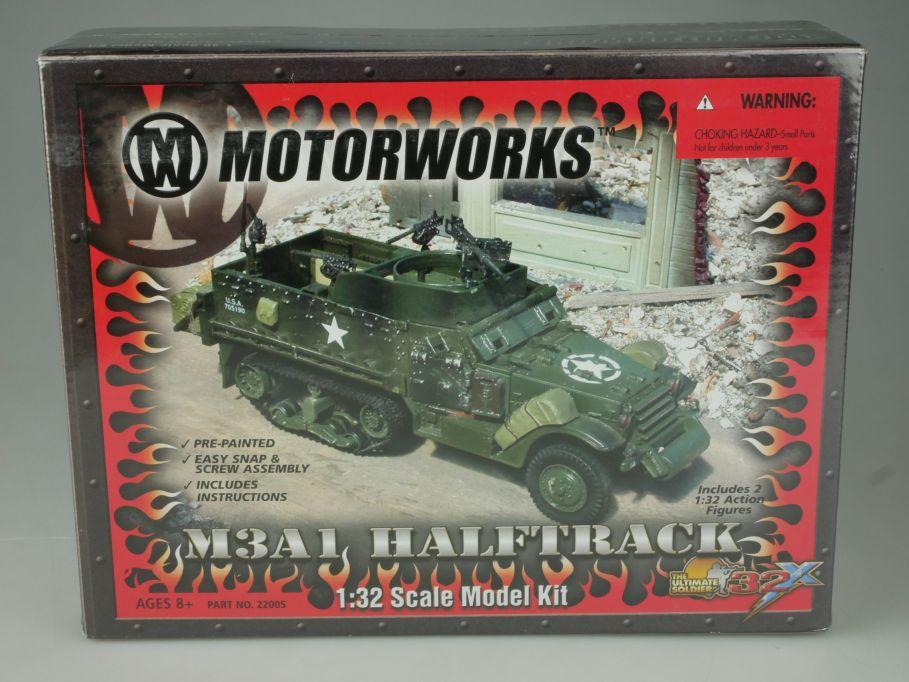 M3A1 Halftrack 1/32 tank ultimate soldier 21 Century Toys Motorworks kit 110833