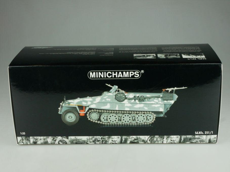 Minichamps 1/35 Sd Kfz 251/1 Halftrack Wehmacht Russia Winter 1942 + Box 110841