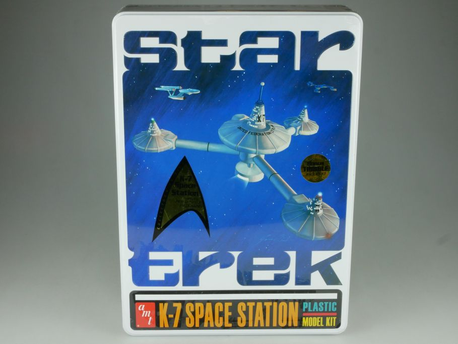 Star Trek K-7 Space Station Bausatz 38cm plastic model kit amt 645 Box 110864