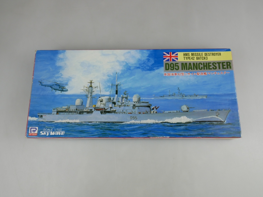 Skywave 1/700 HMS Missle Destroyer Type42 D95 Manchester M-1 OVP kit 110896