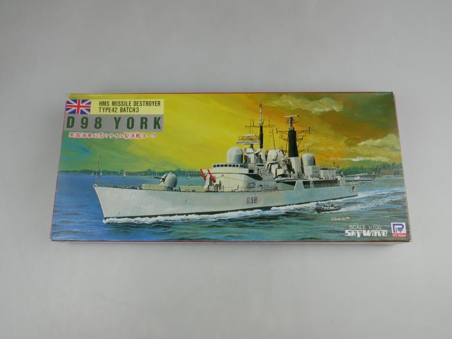 Skywave 1/700 HMS Missle Destroyer Type42 Batch3 D98 York M-2 OVP kit 110897