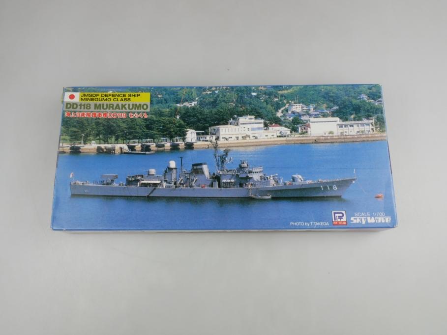 Sky Wave 1/700 JMSDF Defence Minegumo Class DD118 Murakumo SP-3 w/ Box kit 11089