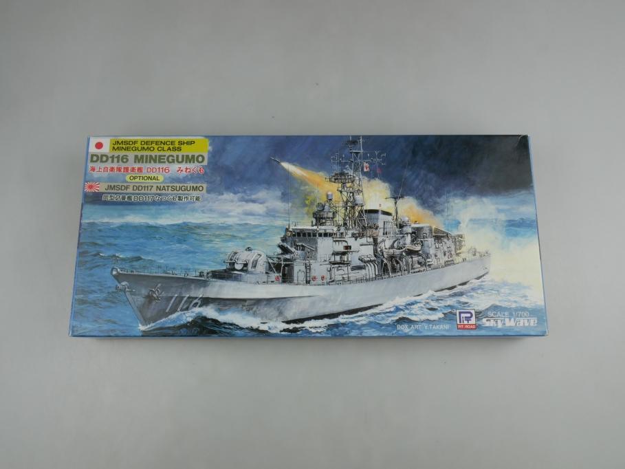 Sky Wave 1/700 JMSDF Defence Minegumo Class DD116 Minegumo J-5 w/ Box kit 110908