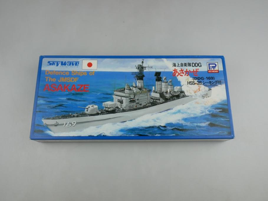 Sky Wave 1/700 JMSDF Defense Ship Asakaze Class DD-169 42 w/ Box kit 110928