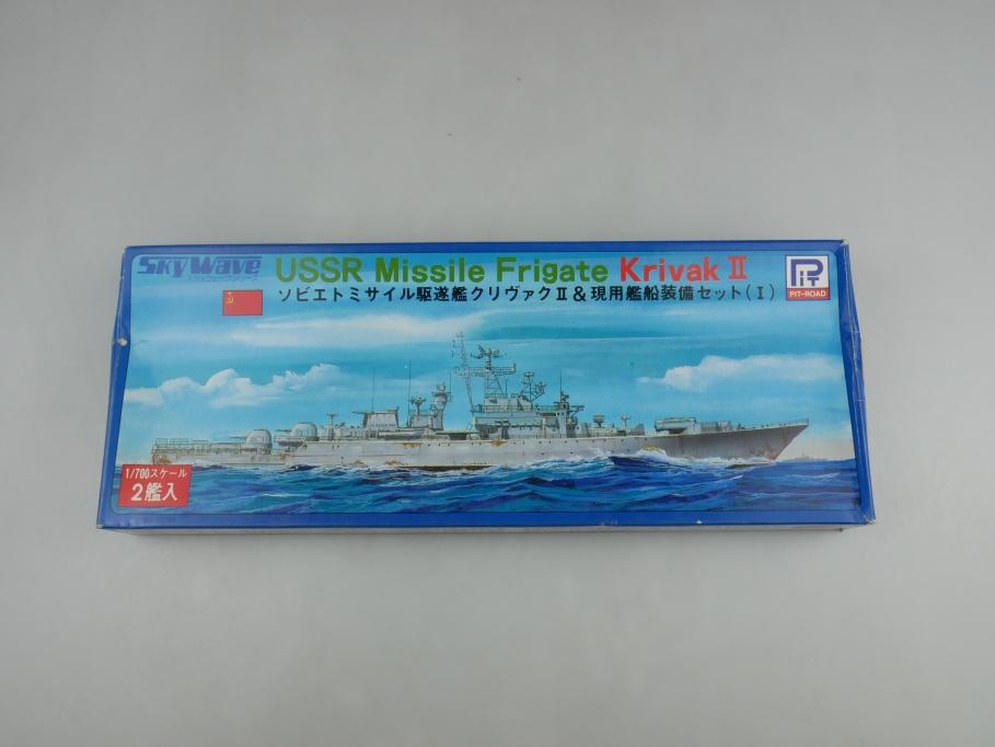 Sky Wave 1/700 USSR Missle Frigate Krivak II (2 Stk.) 31 w/ Box kit 110930