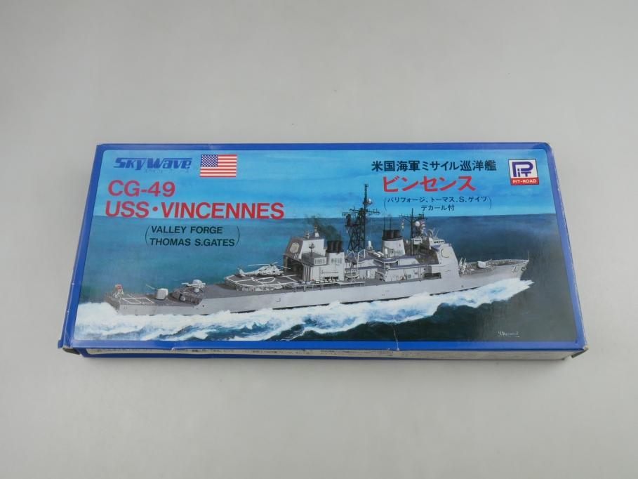 Skywave 1/700 CG-49 USS Vincennes Valley Forge Thomas S. Gates 41 OVP kit 110934