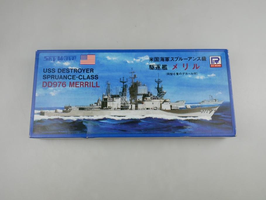 Sky Wave 1/700 USS Destroyer Spruance-Class DD976 Merrill 44 w/ Box kit 110935
