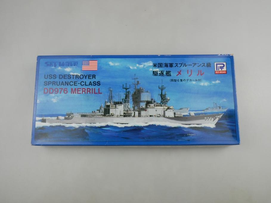 Sky Wave 1/700 USS Destroyer Spruance-Class DD976 Merrill 44 w/ Box kit 110936
