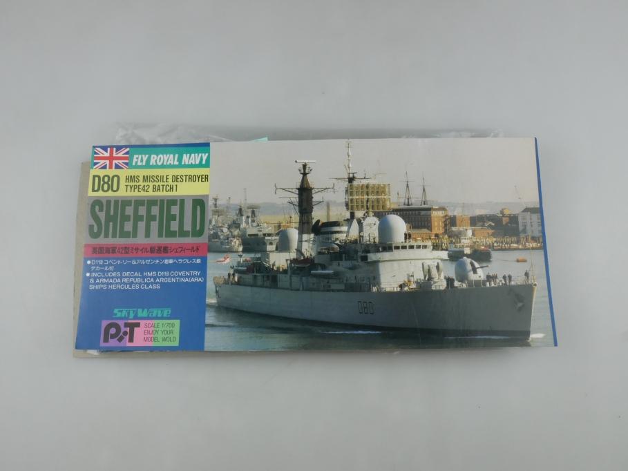 Skywave 1/700 HMS Destoryer Type 42 D80 Sheffield SP2 kit 110988