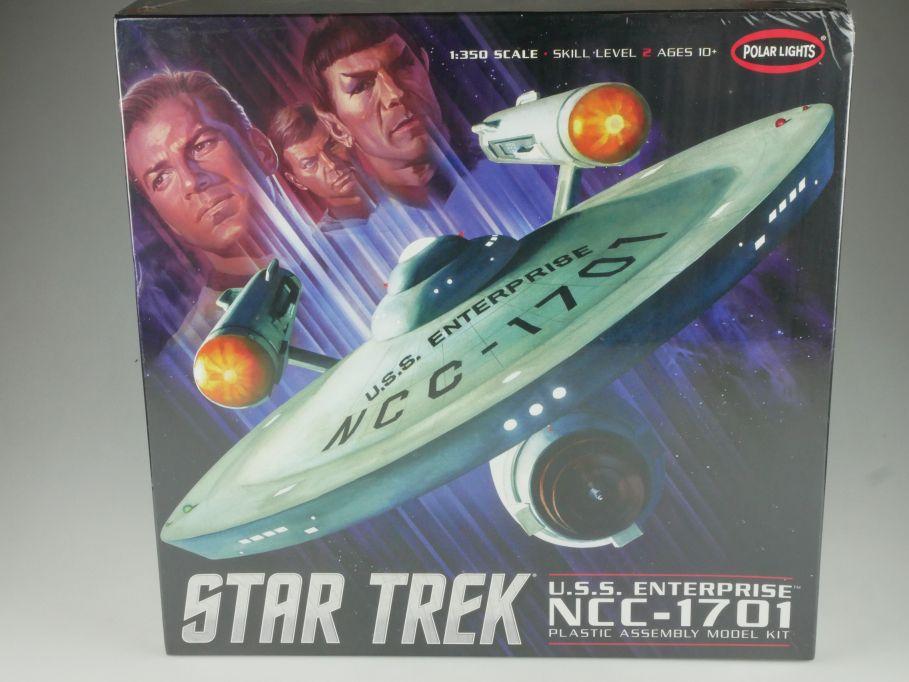 Polar Lights 1/350 Star Trek USS Enterprise NCC-1701 POL880/4 sealed kit 111038