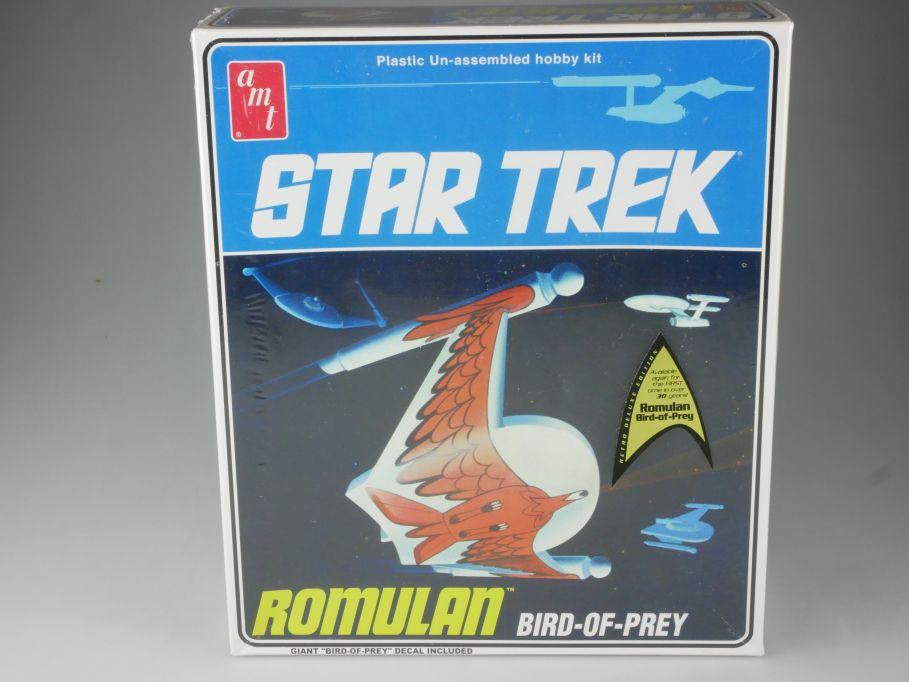 amt 1/650 Star Trek ROMULAN Bird of Prey Bausatz spaceship kit AMT665 Box 111072