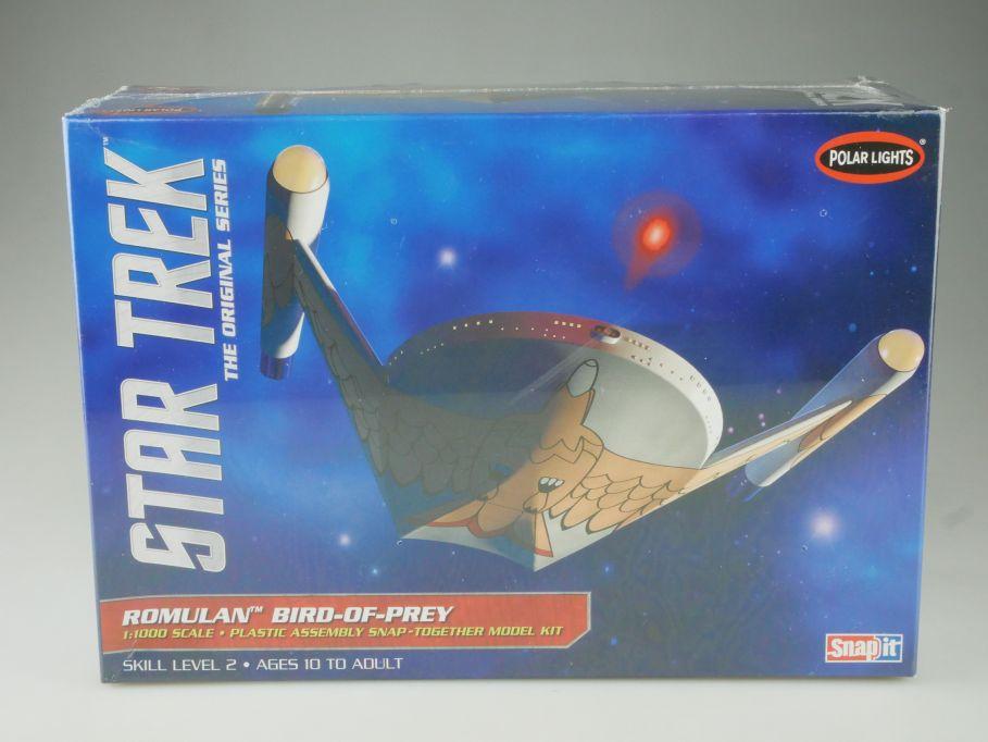 Polar Lights 1/1000 Star Trek ROMULAN Bird-of-Prey kit POL934/12 Box 111073