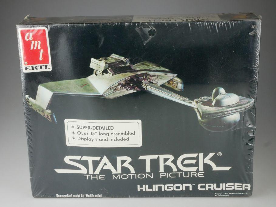 amt ERTL Star Trek 38cm Klingon Cruiser 1984 Motion Picture kit 6682 Box 111080