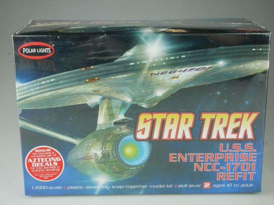 Polar Lights 1/1000 Star Trek USS Enterprise NCC-1701 refit kit POL820 111074