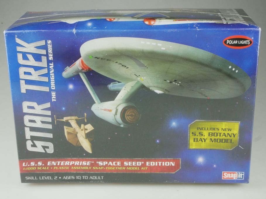 Polar Lights 1/1000 Star Trek USS Enterprise Space SEED Ed. kit POL908/12 111075