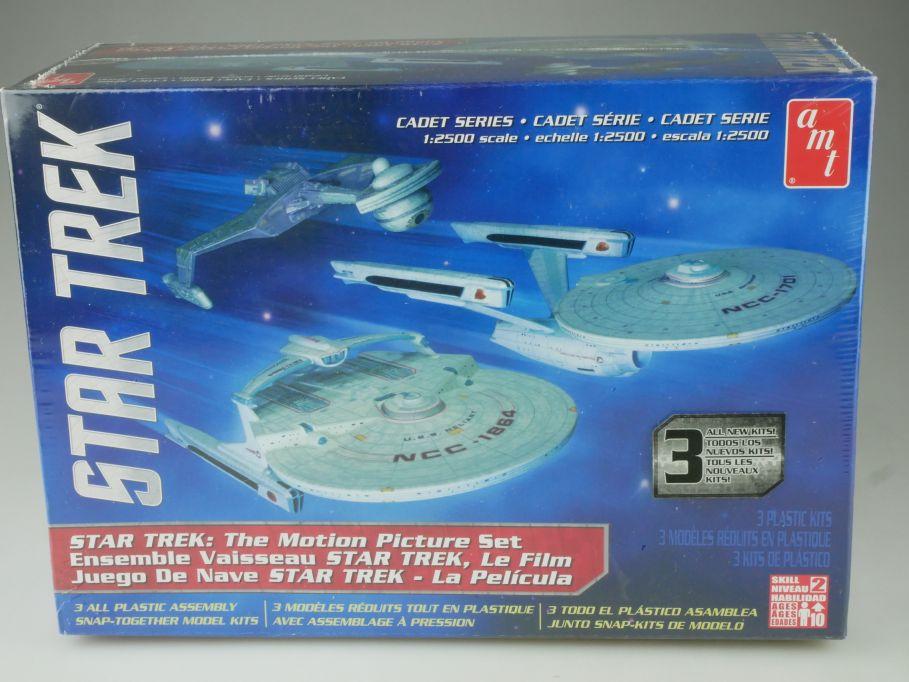 AMT Star Trek 3in1 Motion Picture Set USS Enterprise 1:2500 Kit AMT762/12 111079