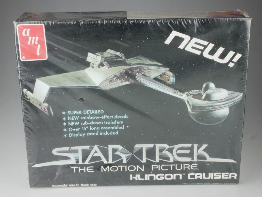 amt Star Trek 38cm Klingon Cruiser spaceship 1979 S971 kit Bausatz Box 111081