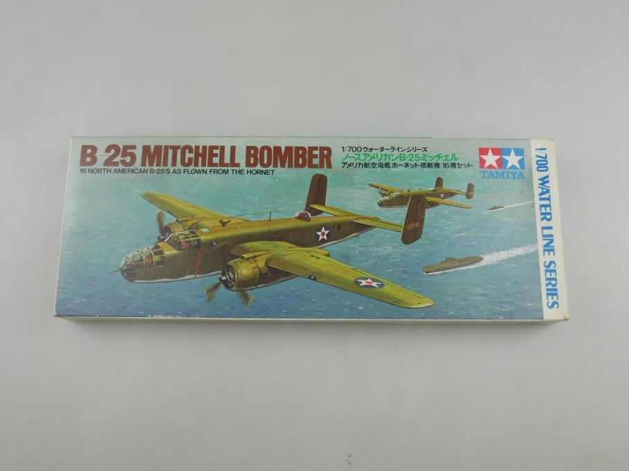 Tamiya 1/700 Water Line Inhalt 2x B25 Mitchell Bomber NK-102 OVP kit 111023